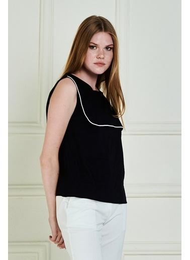 JEANNE D'ARC Bluz Siyah